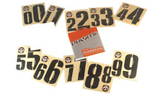 PRYME BMX RACING  Number Plate Complete Number Set 0-9