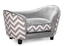 Pet Obsessed 'Luxury Lounge' Dog Sofa (Zebra / Chevron Print)