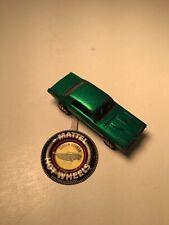 Hot Wheels Redlines! Custom Cougar! Green