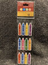 Recollections Kids Puffy Crayon Stickers