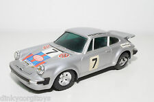PORSCHE 911 CARRERA RS MARTINI RALLY GREY PLASTIC NEAR MINT CONDITION