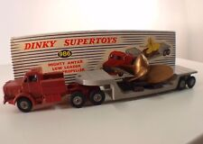 Dinky Toys GB 986 Mighty Antar Low Loader with Propeller camion transport hélice