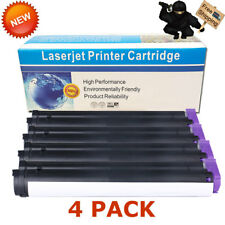 4 PK B410 Toner Cartridges For Okidata B410D B420 B420DN B430 B430DN B440 B440DN