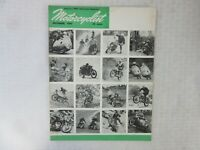 VINTAGE 'MOTORCYCLIST' MOTORCYCLE MAGAZINE, DECEMBER 1957