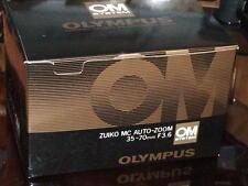 OLYMPUS OM ZUIKO 35-70mm F3.6 LENS NEW IN BOX