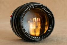 Leica Summilux-M 50 mm f/1.4 Type 2 avec gravure de police de style nouveau rare