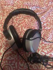 Delta Airlines in-flight Audio headphones headset LSTN Gray Black Music Video