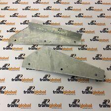 LAND Rover 90 110 130 COPPIA DI Defender Anteriore Fango Flap zincato STAFFE