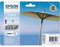 Epson T0445 SET 4 Original Ink Cartridges FOR C64 C66 C84 C86 T0441 T0442  /3/4