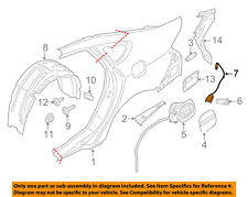 FORD OEM 13-18 Fusion Quarter Panel-Release Cable DG9Z5428610A