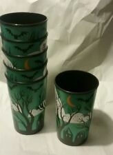 Set of 6 Halloween new without tags tumblers Graves