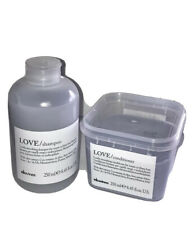 Davines Love Shampoo & Conditioner Set for coarse or frizzy hair texture