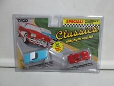 Tyco Classics Magnum 440-X2 Twin Pack 1957 T-Bird & 1960 Corvette HO Scale