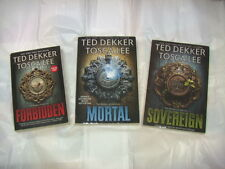 TED DEKKER/TOSCA LEE THE BOOKS OF MORTALS, FORBIDDEN, MORTAL AND SOVEREIGN