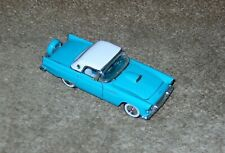 Franklin Mint 1956 Ford Thunderbird Teal 1/43 Cars of Fifties Diecast B11KC32