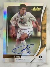 RAUL 2019-20 Panini Chronicles Absolute Autograph Auto REAL MADRID CF