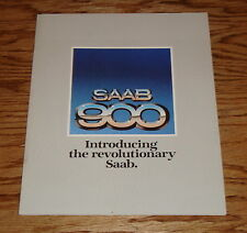 Original 1979 Saab 900 Sales Brochure 79 GLi EMS GLE Turbo