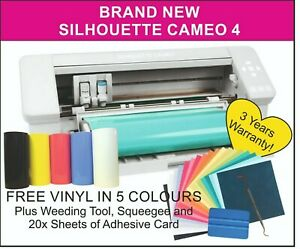 Silhouette Cameo 4 Cutter. UK Reseller, 3 Years Warranty. UK STOCKIST & SUPPORT!