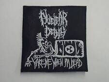 NUCLEAR DEATH EMBROIDERED PATCH