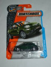 2017 MATCHBOX ADVENTURE '16 FIAT 500X GREEN 3/125 FREE SHIPPING !!