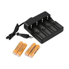 4x18650 3.7V9900mAh Protected Li-ion Battery+4 Slots Universal Stop Charger MKAP