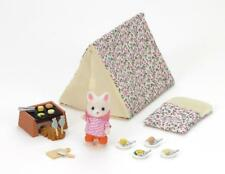 Calico Critters Animal Camp Set Tent Grill Food Kids Toddler Toy Gift Play New