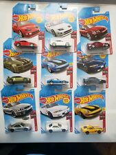 Hot Wheels 2019 NISSAN Series W/red 300zx variation and Skyline ZAMAC set of 9