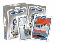Star Wars R2-D2 Ensemble de 52 Jouer Cartes + Jokers (NM)