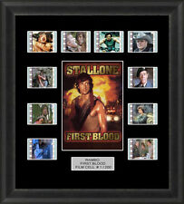 Rambo First Blood Framed 35mm Film Cell Memorabilia Filmcells Movie Cell