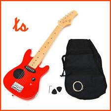 Ts-ideen - guitarra Eléctrica 1/4 infantil con set de accesorios color rojo