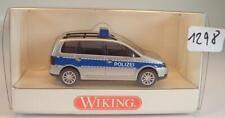 Wiking 1/87 Nr. 104 24 32 VW Touran Polizei OVP #1298