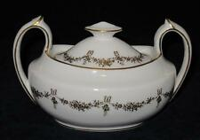 Royal Crown Derby SIMPLICITY (A1263) Gold Bows & Flowers, Covered Vegetable Bowl