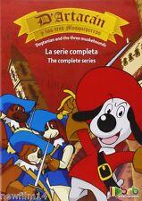 D´ARTACAN Y LOS TRES MOSQUEPERROS DVD SERIE TV COMPLETA NUEVO ( SIN ABRIR ) //