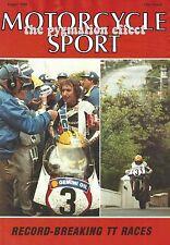 Motorcycle Sport Magazine August 1987 - BMW R100RS Kawasaki GPZ500 GPZ