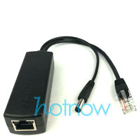 5.5x2.1mm DC 5V 2.4A Active PoE Splitter Power Over Ethernet 802.3af