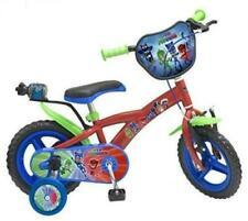 Bicicletta Per Bambini 12'' Super Pigiamini Pj Mask Con Borraccia  3-5 Anni