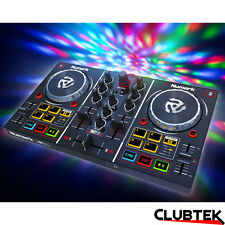 Numark Party Mix DJ Controller + Built-In Light Show USB 2-Channel Virtual DJ LE