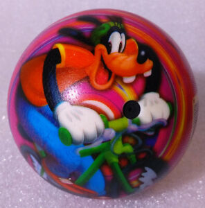 RARE Rubber Ball ✱ GOOFY & MICKEY MOUSE in SPORTS ✱ Disney Smoby Spain