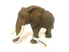 Schleich Wildlife Series #14341 African Elephant-Rare Discontinued Model