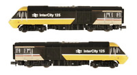Dapol 2D-019-201 N Gauge Class 43 HST Intercity Executive Twin Pack 43131 & 4312