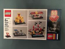 Lego 40290 60th Classic Anniversary Set Limited Edition Free Ship 421 pieces