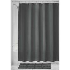 "InterDesign #74655 72"" x 72"" - Charcoal Waffle Shower Curtain"