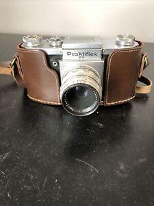 Praktiflex VINTAGE SLR film camera Lens Carl Zeiss Jena Tessar 3625342 #26