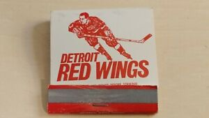 1966-1967 Detroit Red Wings Matchbook Schedule - Partially Full
