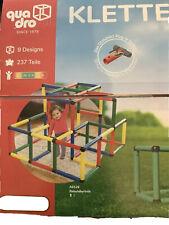 Original Quadro Klettergerüst Kletterpyramide 237 Teile, 9 Designs NEU!