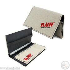 Original Raw Rolling Wallet Pouch - Tobacco Rolling Wallet Papers & Rizla Holder