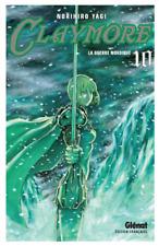 manga Claymore Tome 10 Shonen Norihiro Yagi Glenat Dark Fantasy Guerre Nordique