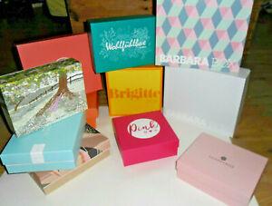 11 leere Beautyboxen -  Pink Box  - Glossybox +Barbara Box
