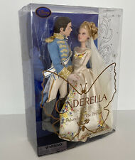 Disney Store Cinderella and The Prince Film Collection Doll Set