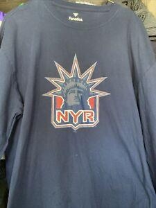 New York Rangers Reverse Retro Tee Shirt.